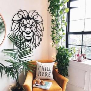 Artwall and Co 722 - Déco métal lion