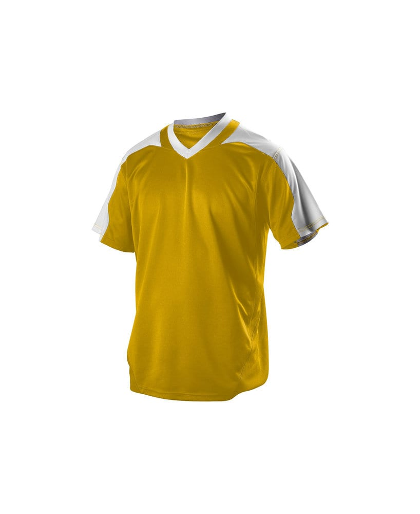Alleson Athletic 521VNY - Alleson Youth V-Neck Baseball Jersey