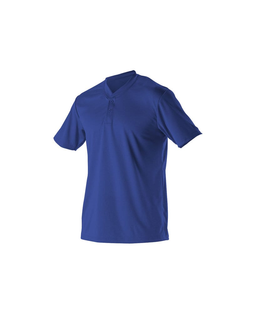 Alleson Athletic 522MMY - Alleson Youth Baseball 2 Button Henley
