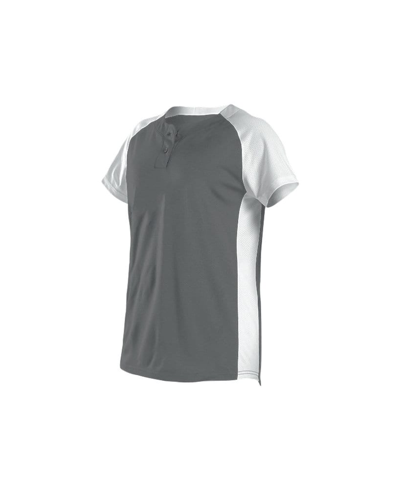 Alleson Athletic 522PDW - Alleson Women's Two Button Fastpitch Jersey