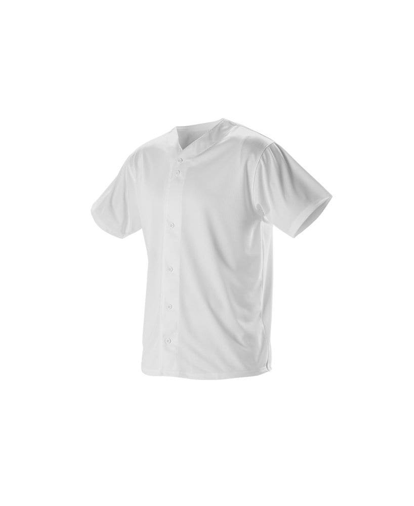 Alleson Athletic 52MBFJ - Alleson Adult Full Button Lightweight Baseball Jersey