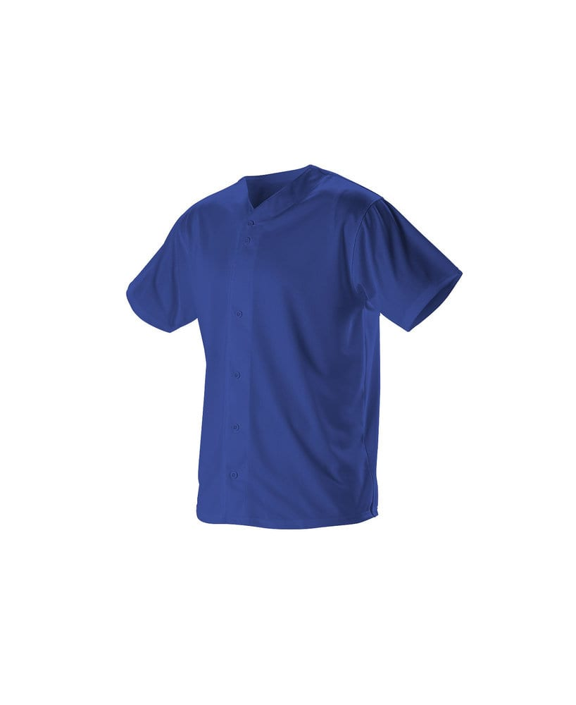 Alleson Athletic 52MBFJY - Alleson Youth Full Button Lightweight Baseball Jersey