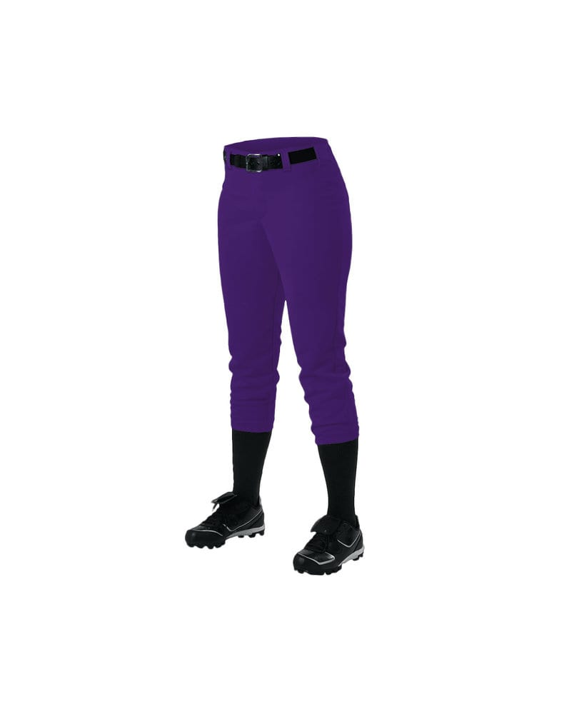 Alleson Athletic 605PBW - Alleson Women's Belt Loop Fastpitch Pant