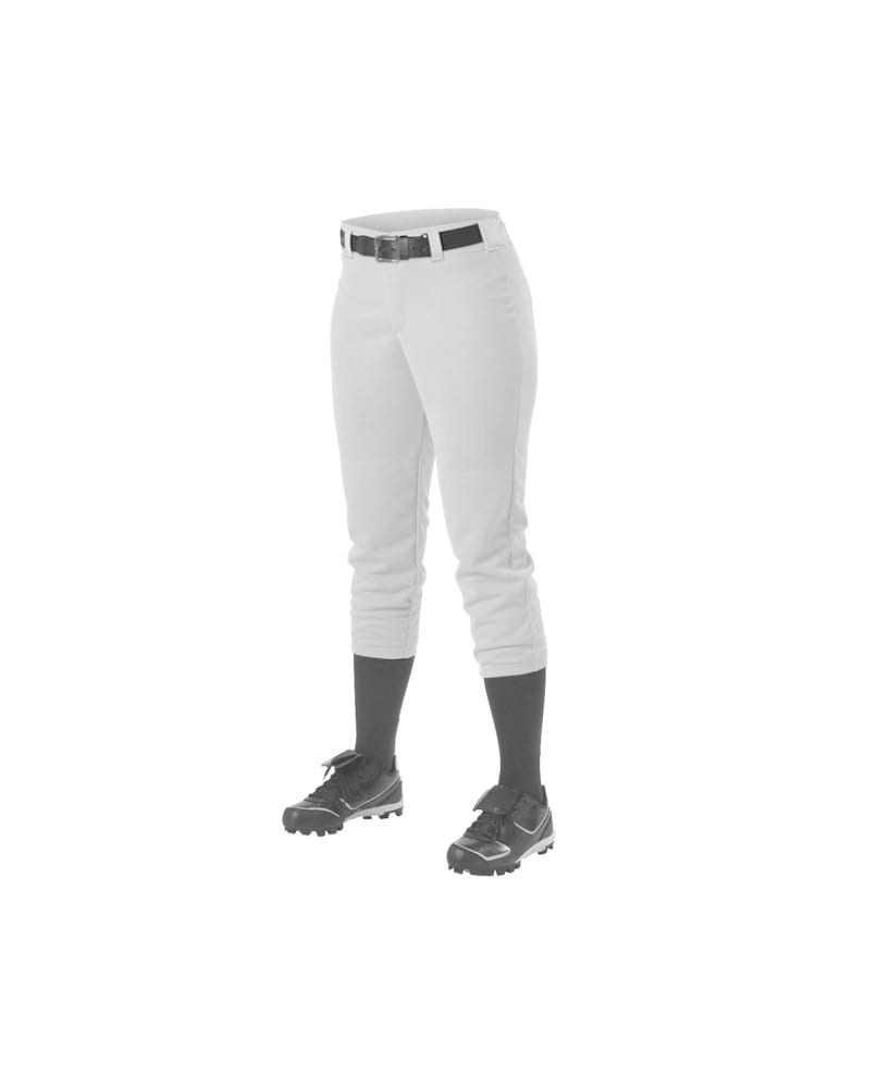 Alleson Athletic 605PBWY - Alleson Girl's Belt Loop Fastpitch Pant