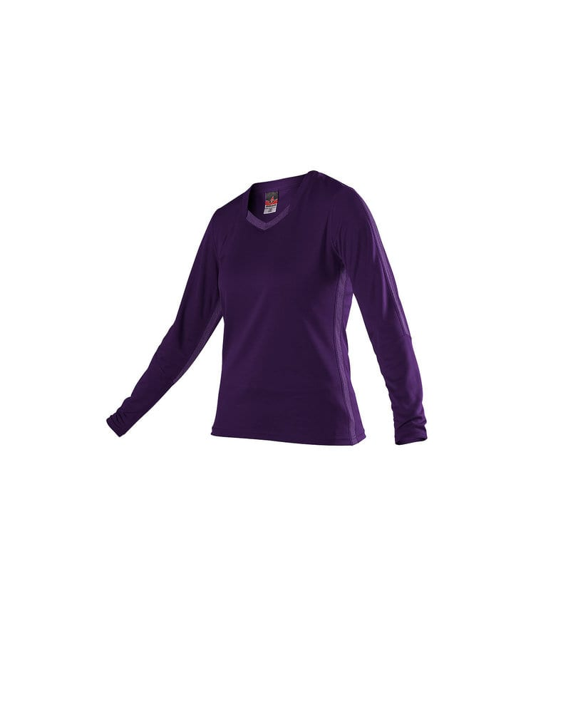 Alleson Athletic 831VLJG - Alleson Girls Dig Long Sleeve Volleyball Jersey