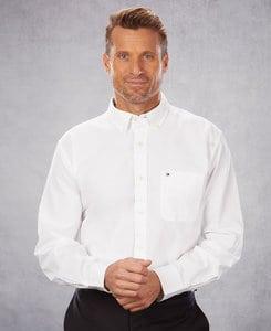 Tommy Hilfiger 13H1864 - Mens New England Oxford Dress Shirt