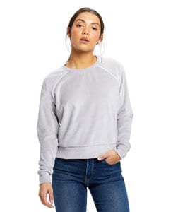 US Blanks US0538 - Womens Velour Crop L/S
