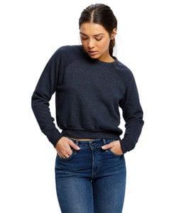 US Blanks US0838 - Womens Crop Raglan Pullover