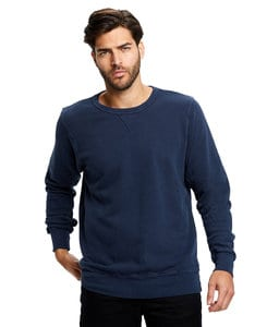 US Blanks US8000GD - Mens Garment Dyed Long Sleeve Pullover