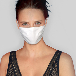 Hanes 0B7MP5001 - 3-layer barrier mask (x5) washable x30