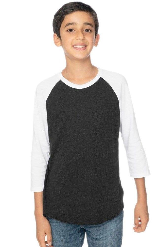 Royal Apparel 20260 - Youth Triblend Raglan Baseball Shirt