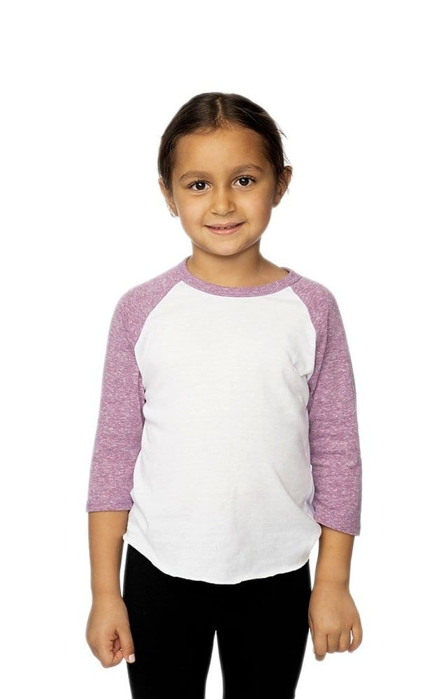 Royal Apparel 20660 - Toddler Triblend Raglan Baseball Shirt