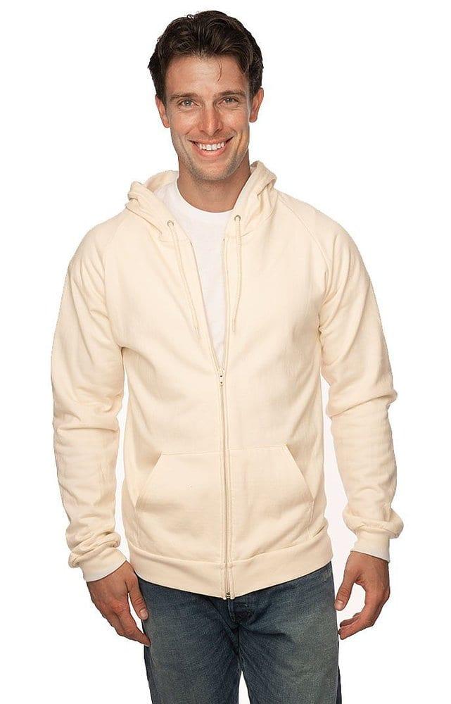 Royal Apparel 21051org - Unisex Organic Cotton Full Zip Hoodie