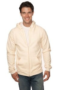 Royal Apparel 21051org - Unisex Organic Cotton Full Zip Hoodie