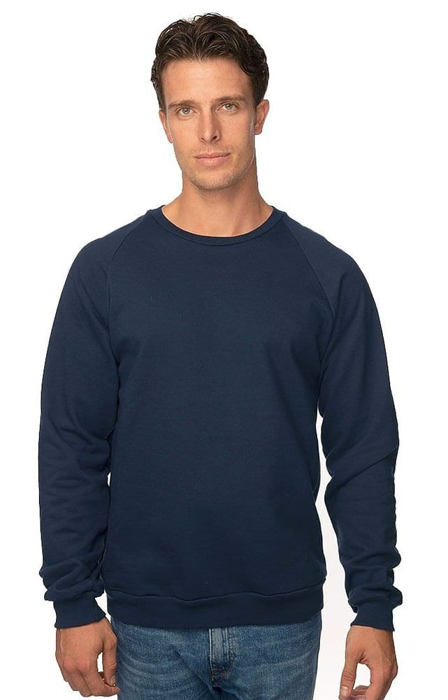 Royal Apparel 21053org - Unisex Organic Raglan Crew Neck Sweatshirt