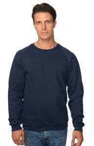 Royal Apparel 21053org - Unisex Organic Raglan Crew Neck Sweatshirt