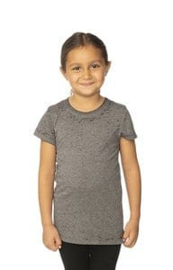 Royal Apparel 22560bo - Kids Burnout Wash Short Sleeve Girls Tee