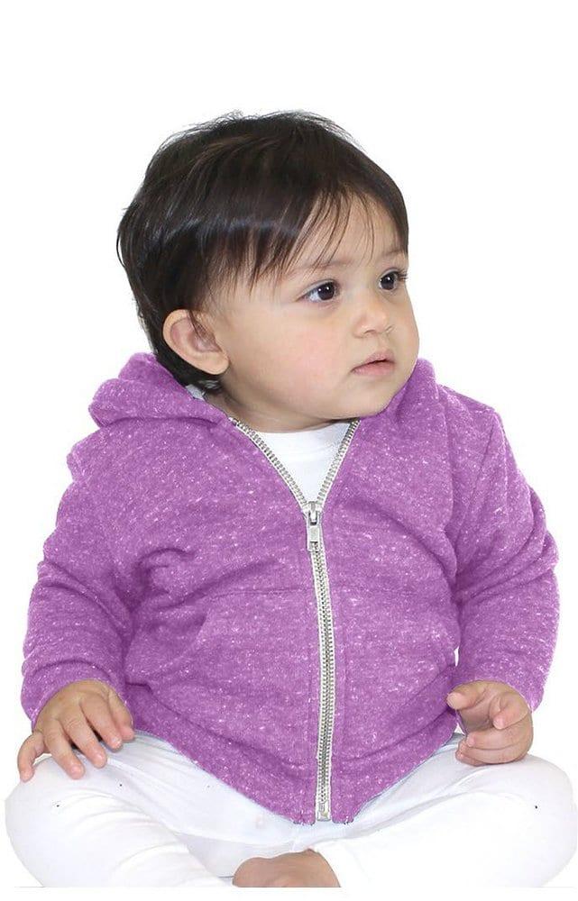 Royal Apparel 25030 - Infant Triblend Fleece Zip Hoodie