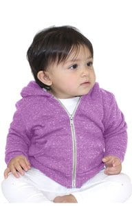Royal Apparel 25030 - Infant Triblend Fleece Zip Hoodie
