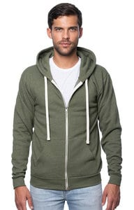 Royal Apparel 25050 - Unisex Triblend Fleece Zip Hoodie
