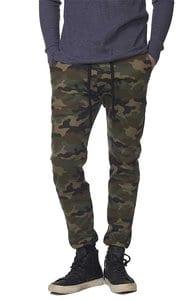 Royal Apparel 3070cmo - Unisex Camo Fleece Jogger Pant