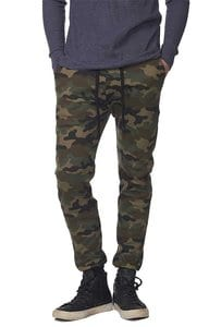 Royal Apparel 3070cmo - Unisex Camo Fleece Jogger Pant