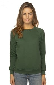 Royal Apparel 3099 - Womens Fashion Fleece Raglan Pullover