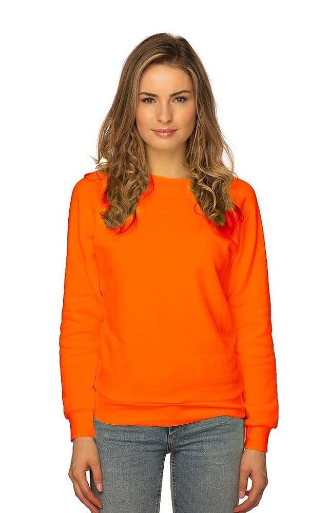 Royal Apparel 3099n - Women's Fashion Fleece Neon Raglan Pullover
