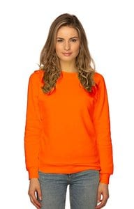 Royal Apparel 3099n - Womens Fashion Fleece Neon Raglan Pullover