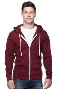 Royal Apparel 3150 - Unisex Fashion Fleece Zip Hoodie