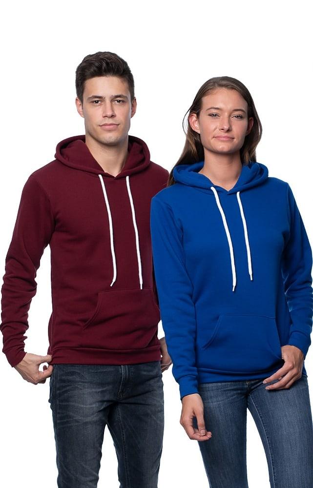 Royal Apparel 3155 - Unisex Fashion Fleece Pullover Hoodie