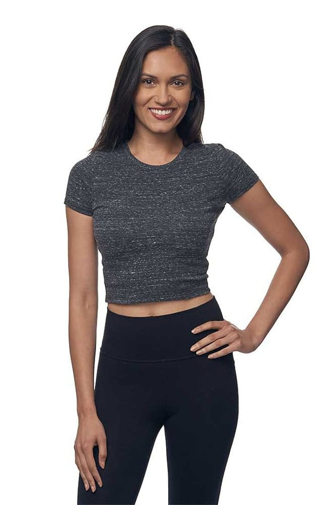 Royal Apparel 32084 - Women's eco Triblend Crop Tee