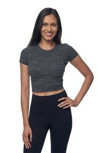 Royal Apparel 32084 - Womens eco Triblend Crop Tee