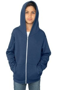 Royal Apparel 3222 - Youth Fashion Fleece Zip Hoodie
