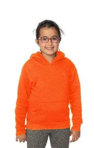Royal Apparel 3229n - Youth Fashion Fleece Neon Pullover Hoodie