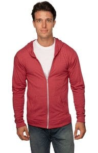 Royal Apparel 32550 - Unisex eco Triblend Jersey Full Zip Hoodie