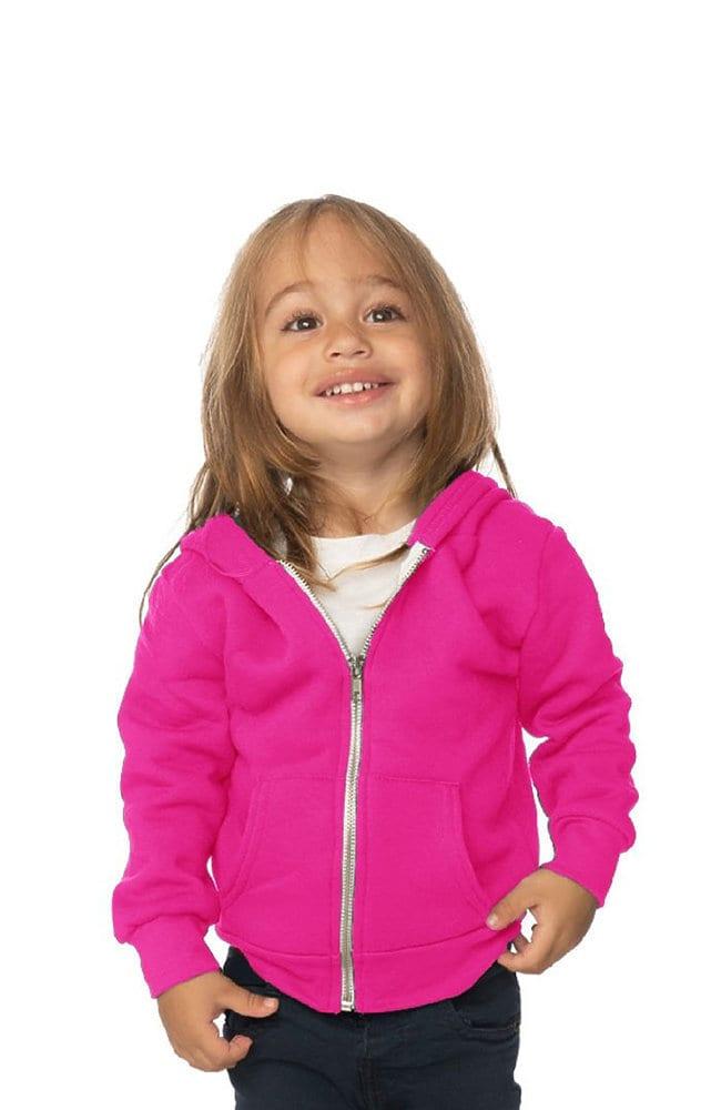 Royal Apparel 3333n - Infant Fashion Fleece Neon Zip Hoodie