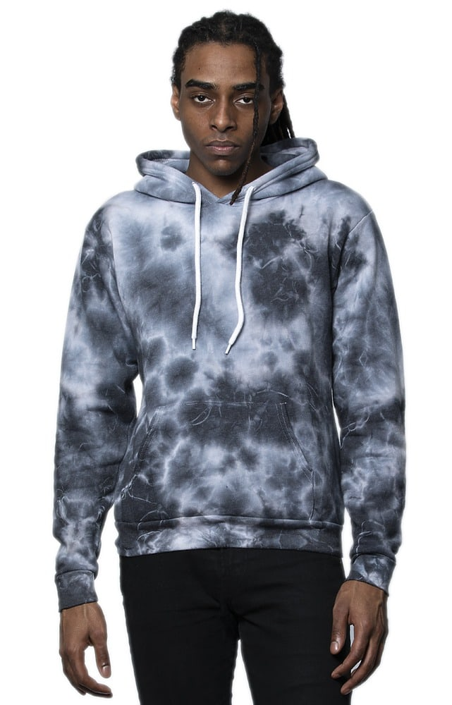 Royal Apparel 3555ctd - Unisex Cloud Tie Dye Pullover Hoodie