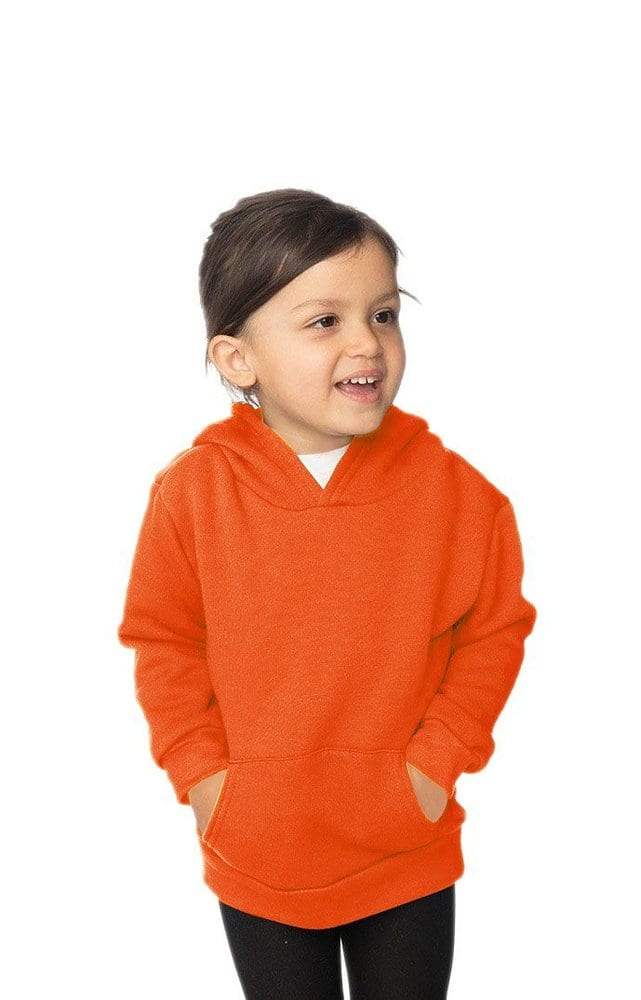 Royal Apparel 3669n - Toddler Fashion Fleece Neon Pullover Hoodie