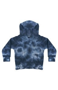 Royal Apparel 3699ctd - Toddler Fleece Cloud Tie Dye Pullover Hoodie