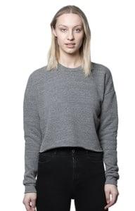 Royal Apparel 37002 - Womens eco Triblend Fleece Crop
