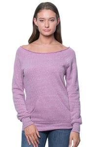 Royal Apparel 37120 - Womens eco Triblend Fleece Raglan w/Pouch Pocket