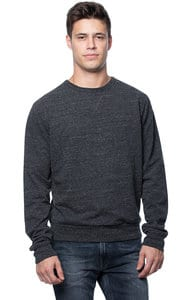 Royal Apparel 42108 - Unisex eco Triblend French Terry Crew