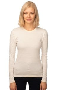 Royal Apparel 5002org - Womens Organic Long Sleeve Crew Tee