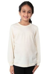 Royal Apparel 5022org - Youth Organic Long Sleeve Crew Tee
