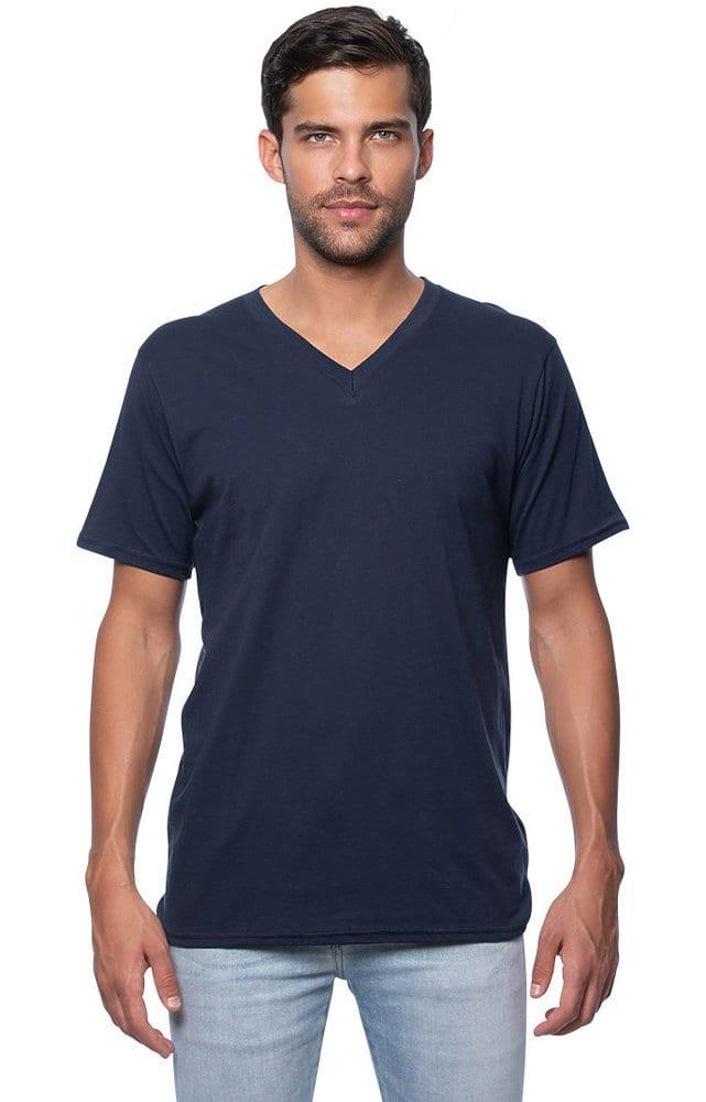 Royal Apparel 5055org - Unisex Organic Short Sleeve V-neck