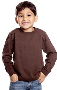Royal Apparel 5062 - Toddler Long Sleeve Crew Tee