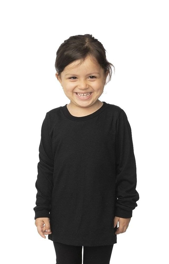 Royal Apparel 5062org - Toddler Organic Long Sleeve Crew Tee