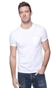 Royal Apparel 5117org - Unisex Organic Short Sleeve Pocket tee
