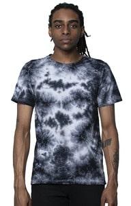 Royal Apparel 5951ctd - Unisex Cloud Tie Dye Tee